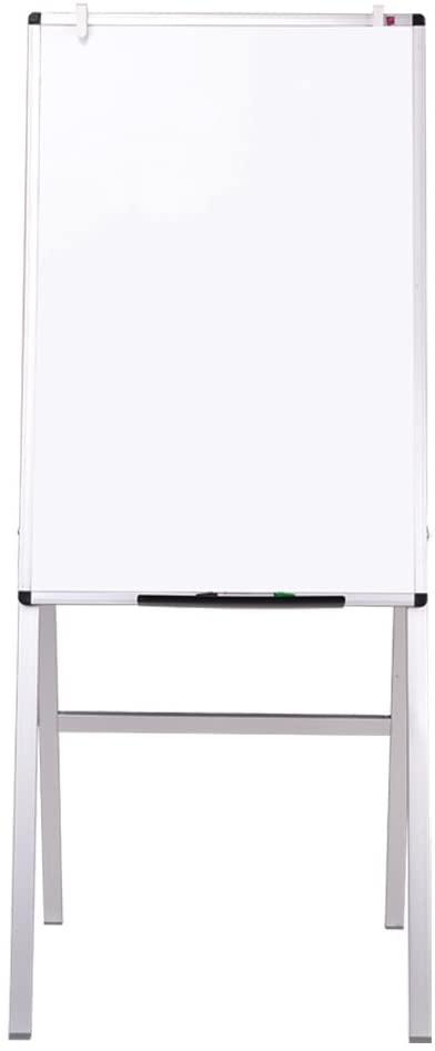 VIZ-PRO Melamine H-Stand Whiteboard/Adjustable Dry Erase Easel,24 x 36 Inches