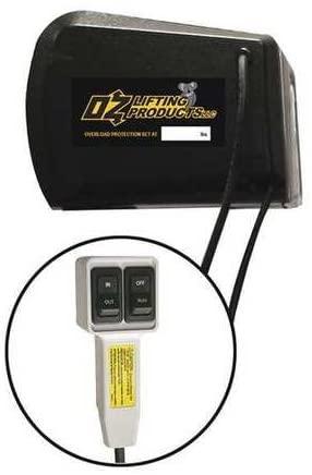 Electric Winch, Black, 1 Motor HP