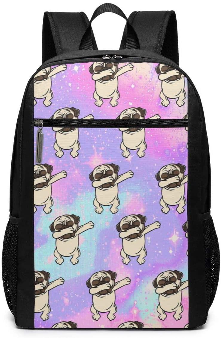 O-X_X-O Unisex Travel Backpack Rucksack 17 Inch Laptop Backpack Student Book Bag