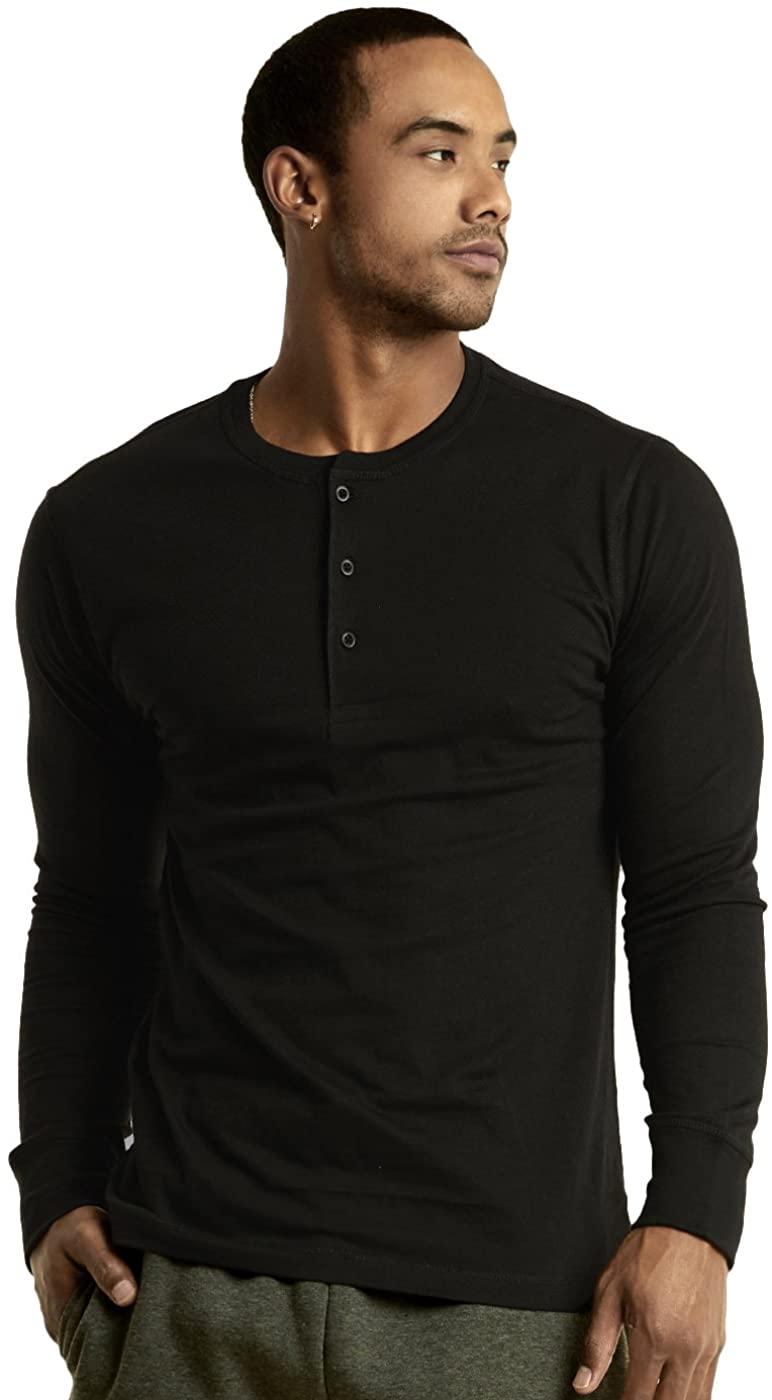 Knocker Henley Shirts - Men's Cotton Full Sleeve Henley Shirt