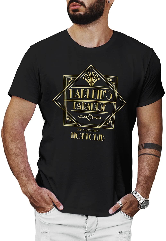 LeRage Harlems Paradise Shirt Luke of Cage Shirt Superhero Shirt Mens