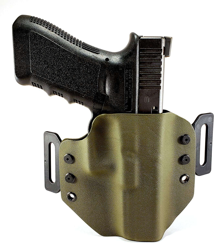 OWB Kydex Holster for Glock 17,22 gen 3-4 Tru-Fit Tactical LLC
