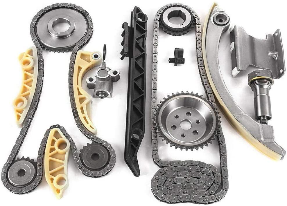 Duokon Timing Chain, 16Pcs Timing Chain Kit Fit for Chevrolet COBALT/MALIBU Car Repairing Accessories