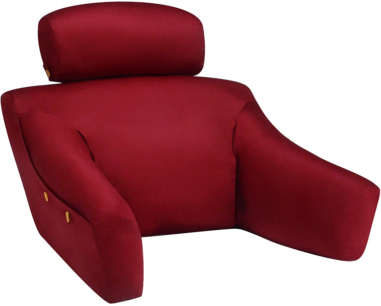 BedLounge Hypoallergenic - Regular Size - Burgundy Cotton