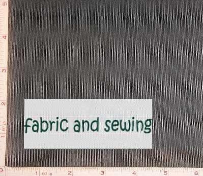 Black Small Hole Net Netting Fabric 2 Way Stretch Polyester 3 Oz 58-60
