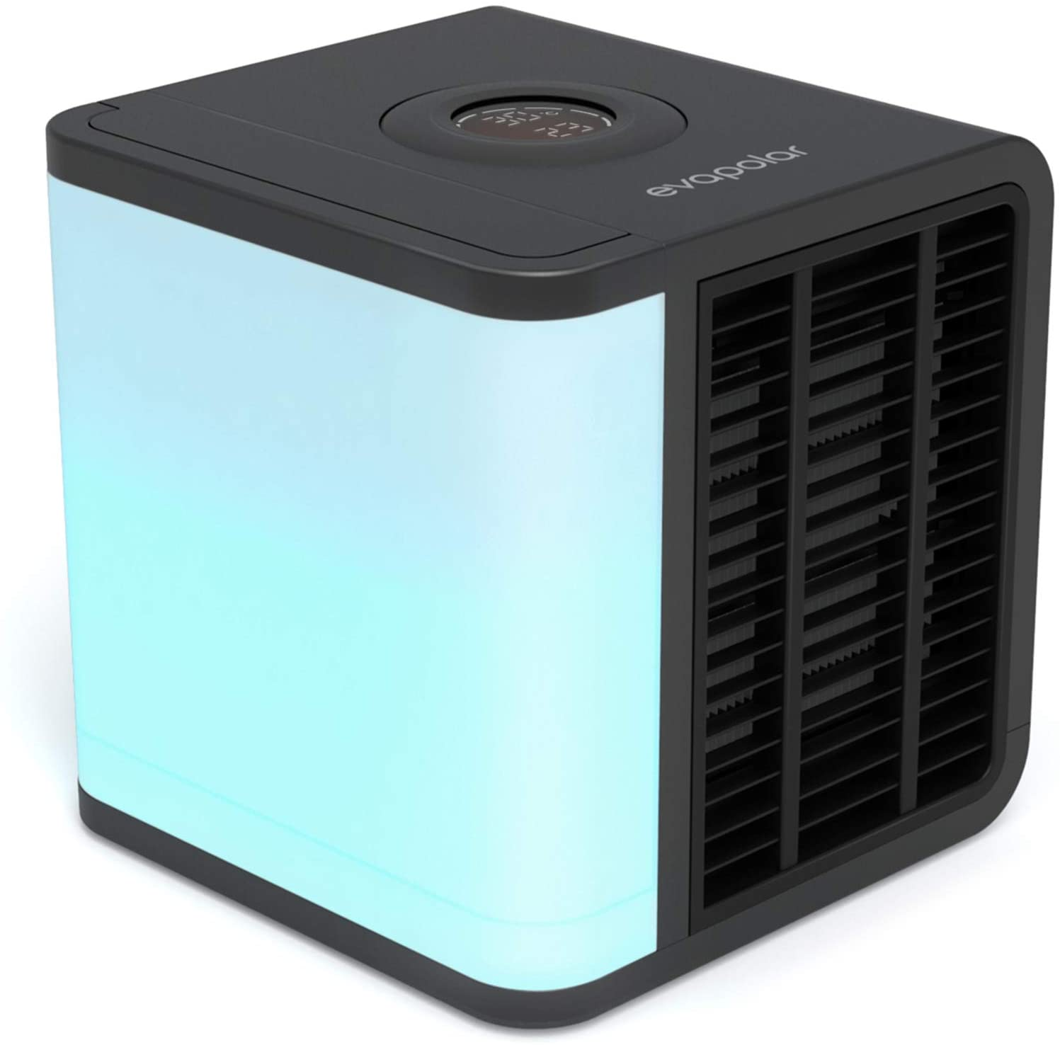 Evapolar EvaLIGHT Plus EV-1500 Personal Evaporative Air Cooler and Humidifier/Portable Air Conditioner, Black