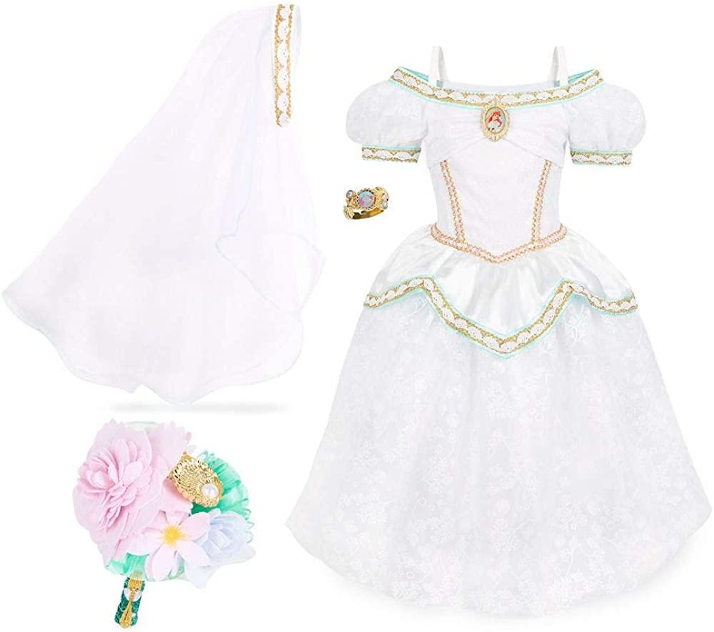 Disney Ariel Wedding Costume Set – The Little Mermaid