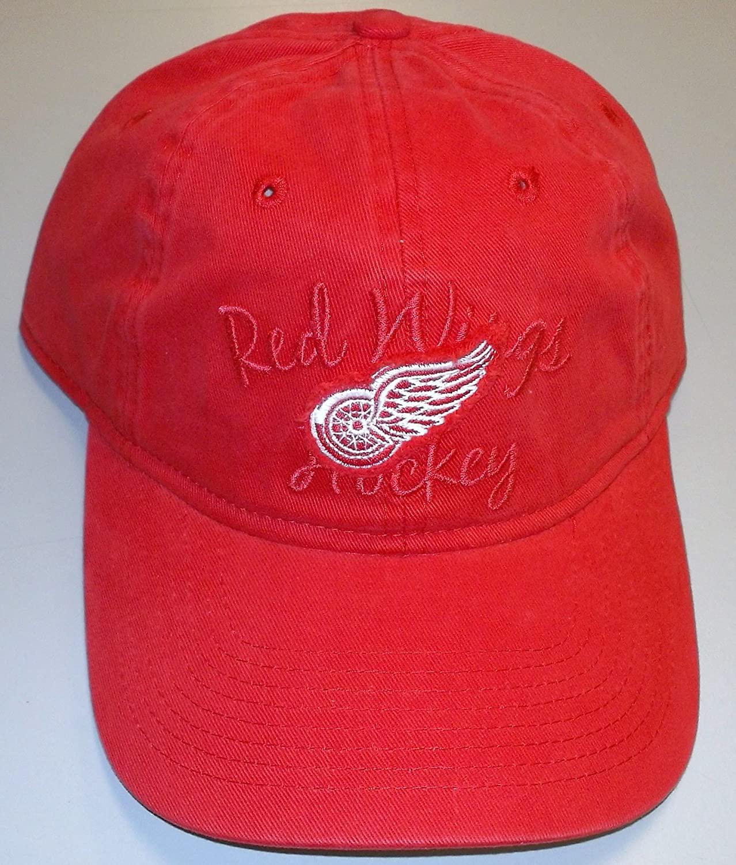 Reebok Detroit Red Wings Red Slouch Strap Back HAT - Women - EM43W