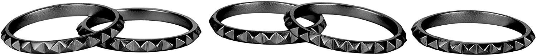 Kendra Scott Tucker Gunmetal Medium Ring, Size 3