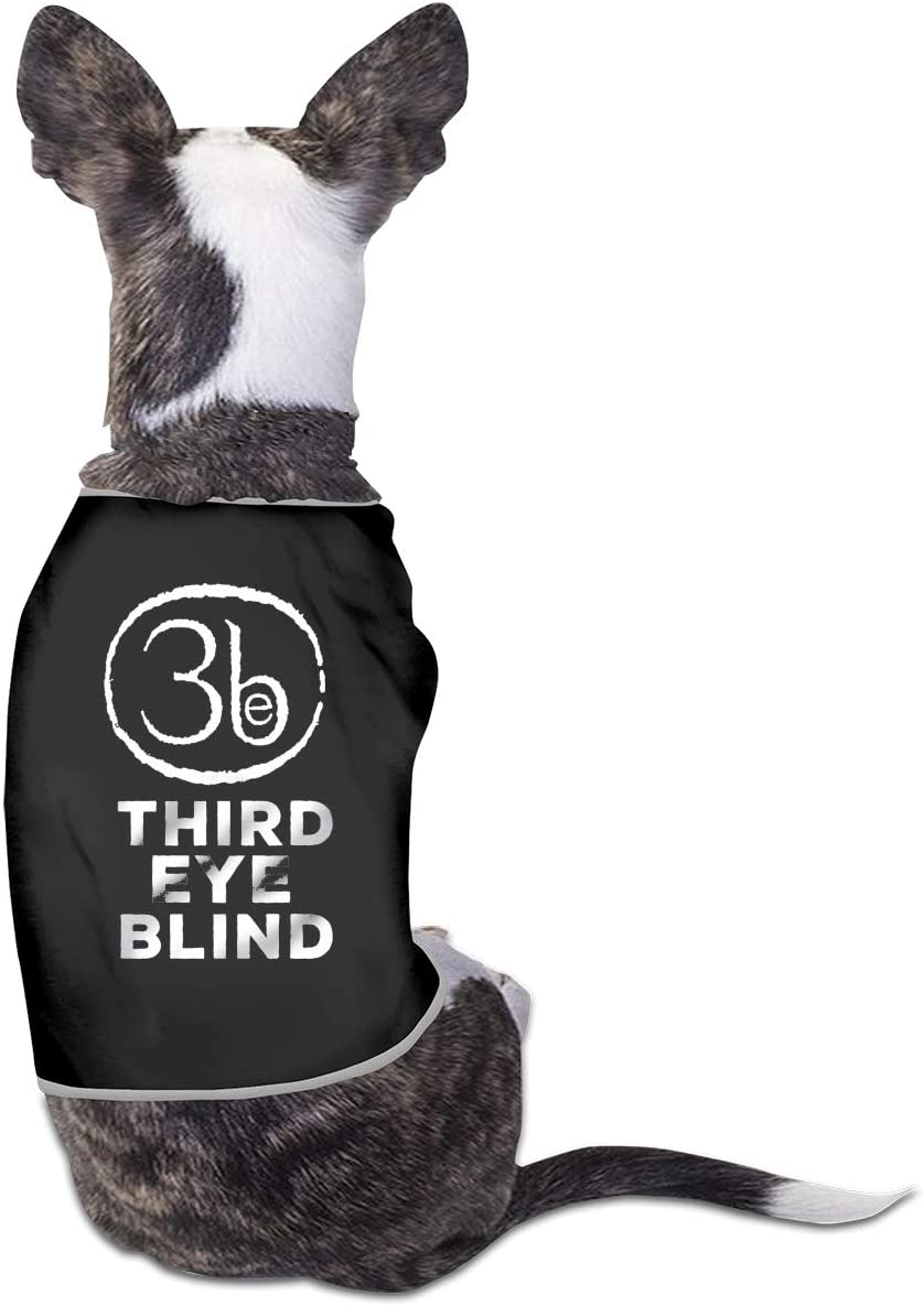 Qq1-asd-store Third Eye Blind Pet Clothes Animals Vest Tracksuit Dog Cat Puppy Costumes