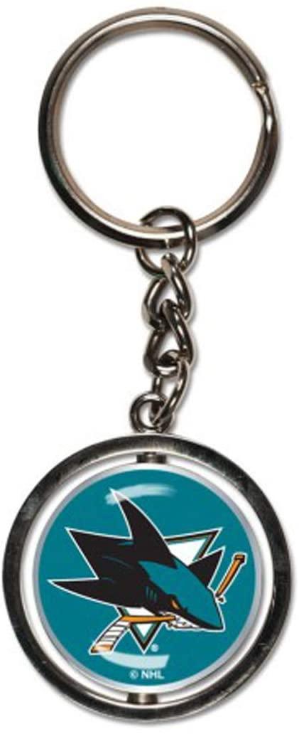 WinCraft NHL San Jose Sharks Key Ring Spinner