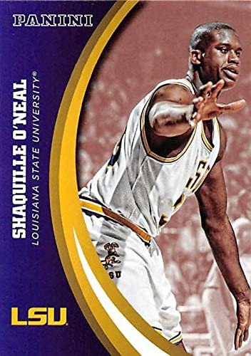 Shaquille O'Neal basketball card (LSU Tigers) 2015 Panini Team Collection #79 SHAQ