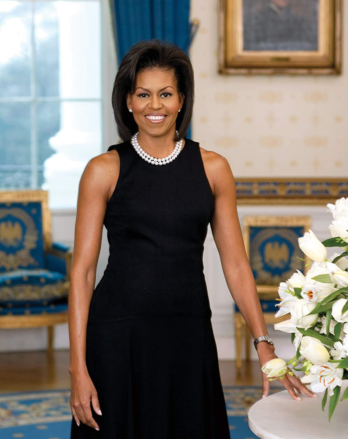 Michelle Obama Photograph - Historical Artwork from 2009 - (8 x 10) - Matte