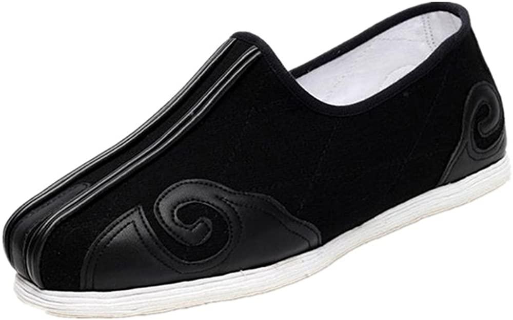 Tianrui Crown Men's Handmade Melaleuca Soles Cloth Shoe Slip-on Loafer Flat Shoe