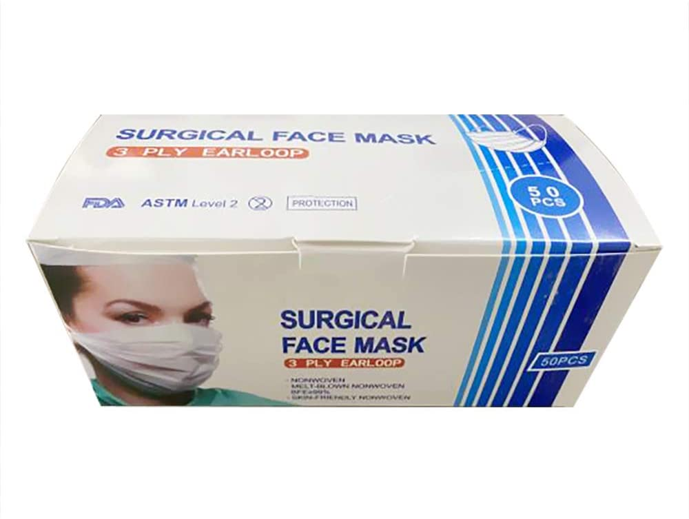 ASTM Level 2 Disposable Mask- Box of 50 Pieces