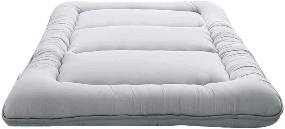 CTYfuton Thick Premium Tatami Floor Futon Mattress Mat,Cooling Japanese Tatami Sleeping Pad,Breathable Soft Mattress Topper for Dormitory-b California King