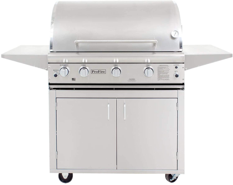 ProFire Professional Deluxe Series 36-Inch Propane Gas Grill