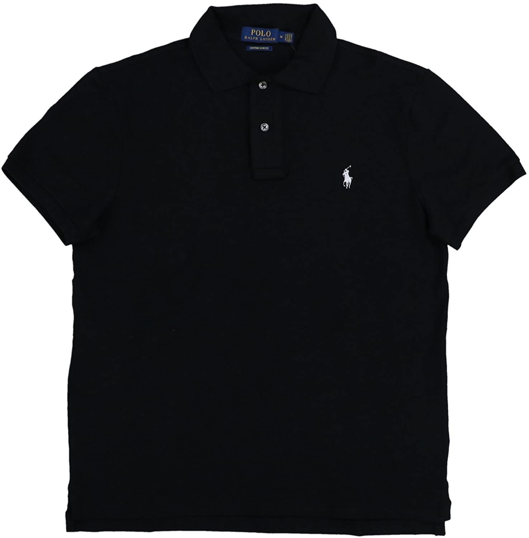Polo Ralph Lauren Mens Custom Slim Fit Stretch Polo Shirt
