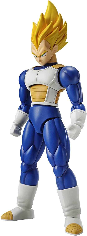 Bandai Hobby Figure-Rise Standard Super Saiyan Vegeta Dragon Ball Z Model Kit Figure