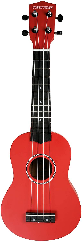 UKELELE - Pure Tone (Pack KUS15) Soprano (Color Rojo)