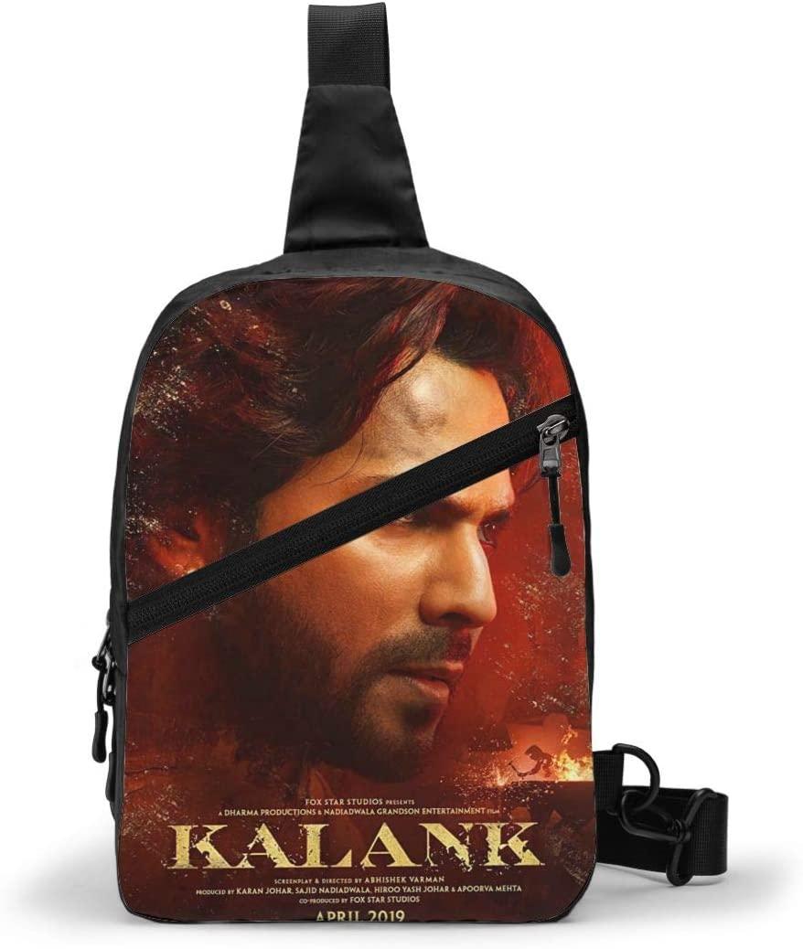Varun Dhawan In Kalank New Crossbody Mini Camper Chest Bags Backpack Package For Women & Men