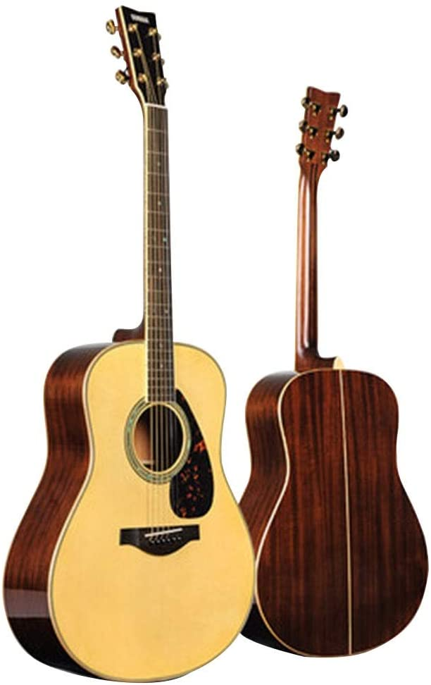 Guitars & Fretted Instruments Guitar Electric Guitar Yamaha LL16M are Folk Board Electric Box Beginner Student Men and Women 41 Inch Guitars (Color : Wood Color, Size : 1034012CM)
