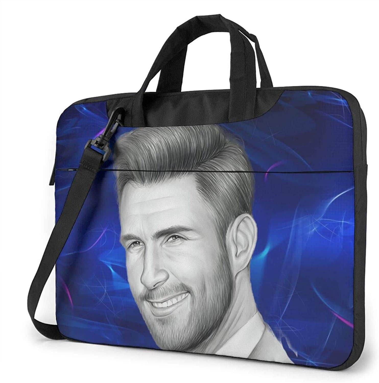 HYANGLIQGB Laptop Bag Adam Levine 13/14/15.6 inch Laptop Shoulder Messenger Bag Briefcase-Shockproof Foam Computer Protection Bag
