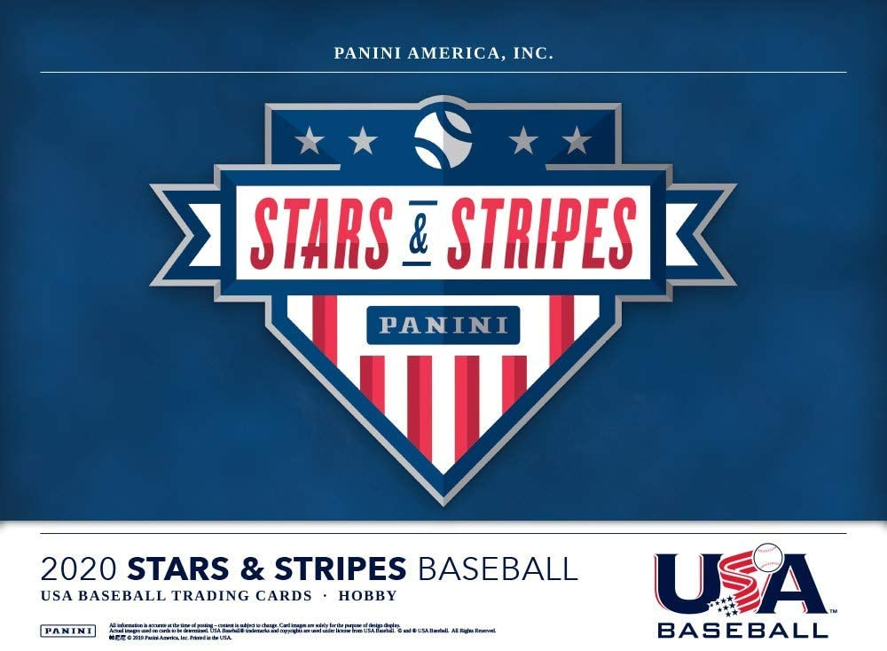 2020 Panini Stars and Stripes Baseball Hobby 20-Box Case