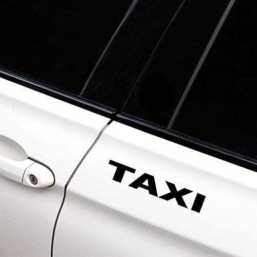 17.3×3 cm Taxi Cars Vinyl Car Sticker Car-Styling Cute Window Decal Sticker Car Vinyl Decal Laptop Car Truck Bumper Window Sticker
