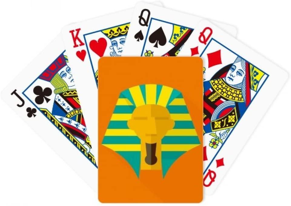 DIYthinker Ancient Egypt Abstract Pattern Pharaoh Poker Playing Magic Card Fun Board Game