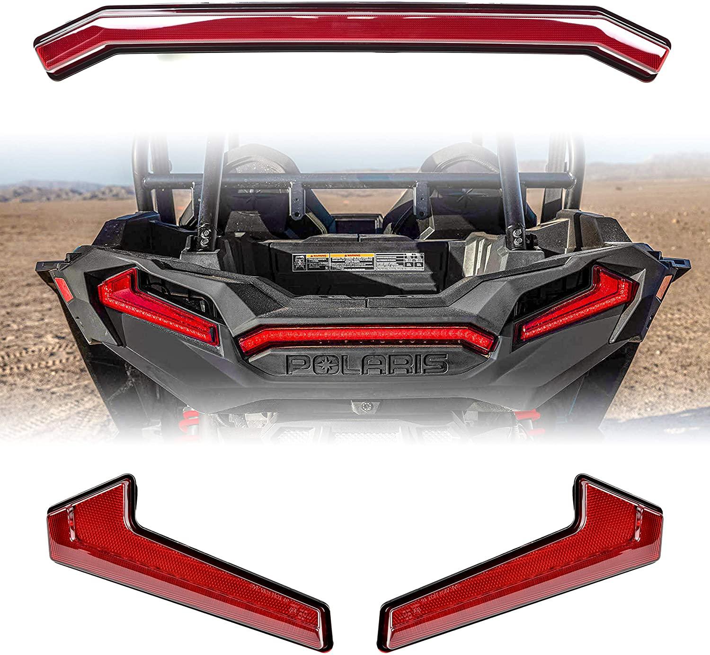 Red Tail Lights Kit for Polaris RZR XP 1000 Turbo S