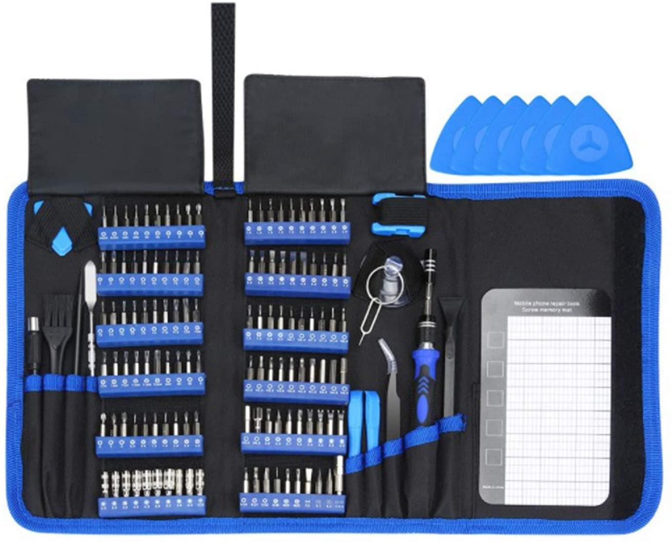 Tiamu 140 in 1 Precision Screwdriver Set Torx Bit Screw Driver Bits Magnetic Mobile Phone Multitools Repair Hand Tools Kit