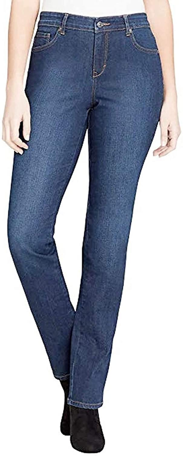 Gloria Vanderbilt Women's Rail Straight Leg Jean