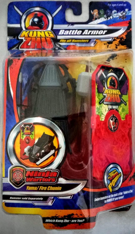 Kung Zhu Pets Battle Armor Yama Fire Chunin - Hamster NOT Included!