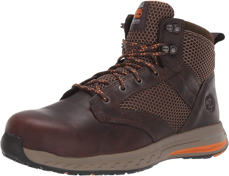Timberland PRO Men's Drivetrain Mid Composite Toe Eh Industrial Boot