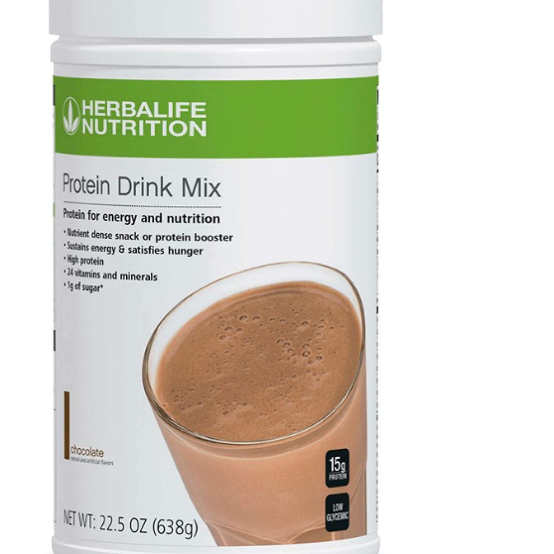 Herblaife Bebida de Proteína en Polvo: Chocolate 638g