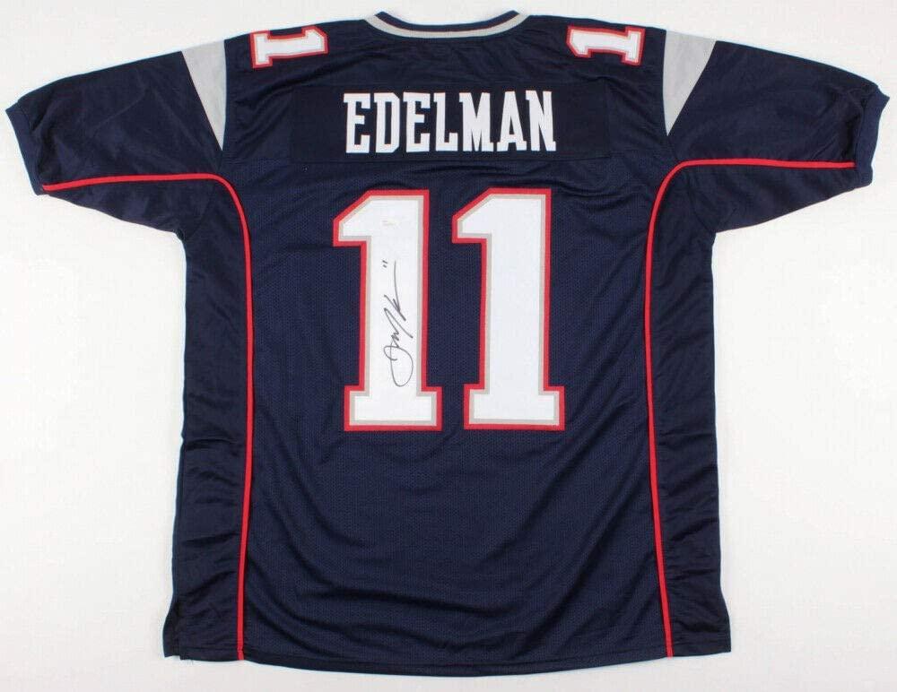 Julian Edelman Autographed Signed New England Patriots Jersey (JSA COA) Super Bowl Liii MVP
