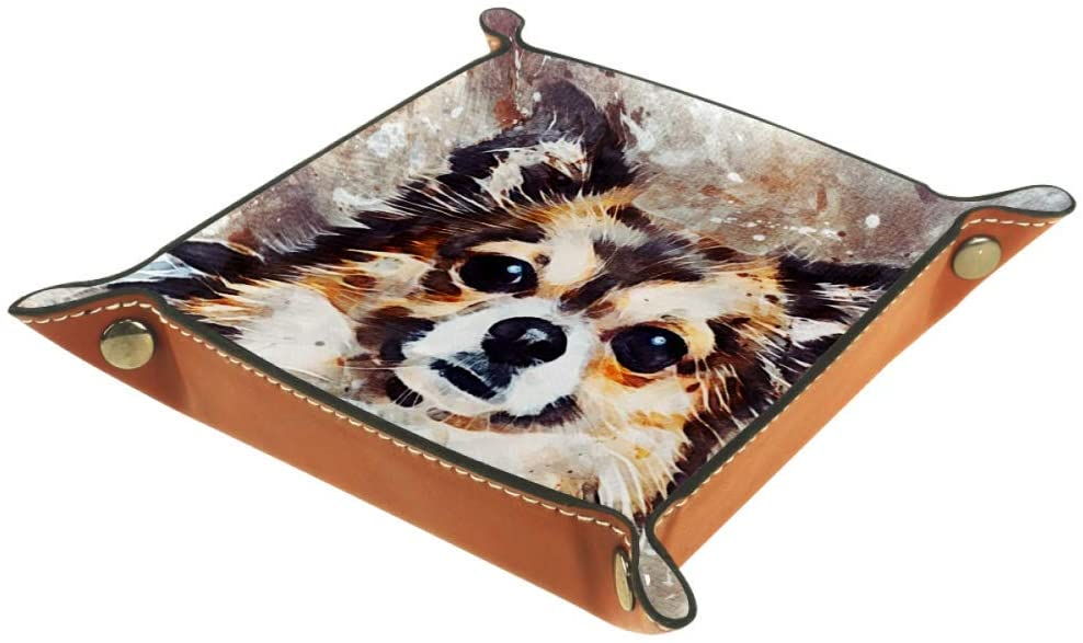 Chihuahua Dog Cute Pets Small Storage Box Cube Basket Bins Containers for Office Home
