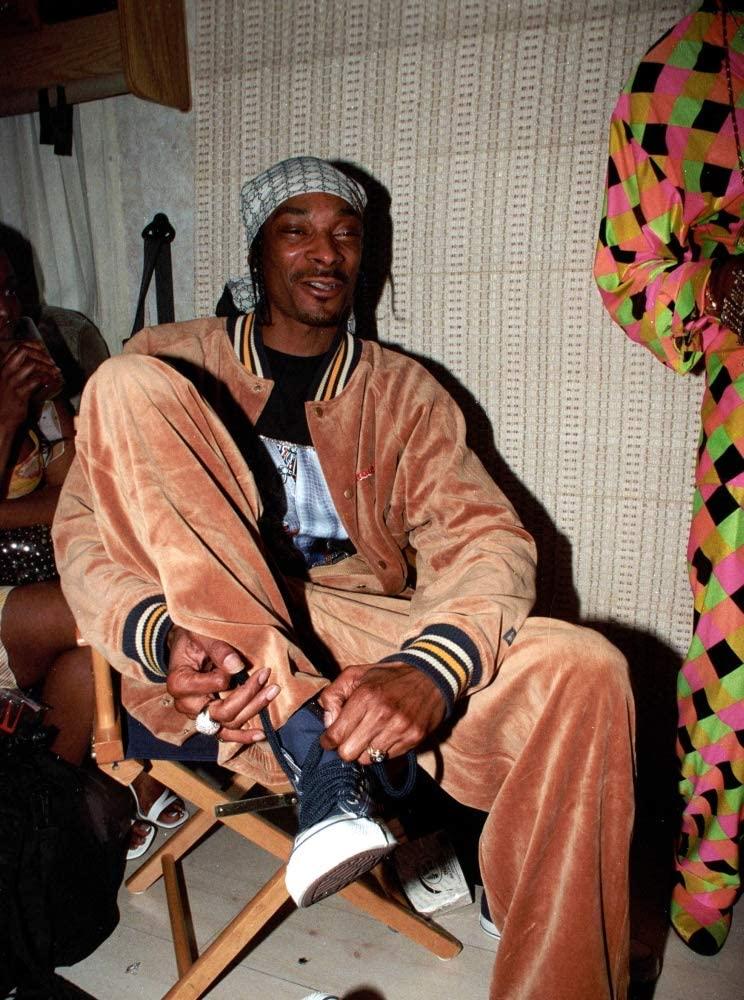Posterazzi EVCPCDSNDOKG001 Snoop Dogg at Beyond Festival, Bicentennial Park, Miami Fl, 4/13/2002, by Kraig Geiger Photo Print, 8 x 10, Multi