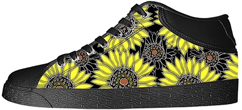 Daniel Turnai Fan Custom Sunflower Womens Classic High Top Canvas Shoes Fashion Sneaker