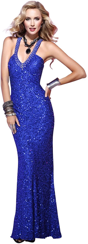 Scala Long Halter Dress 4124