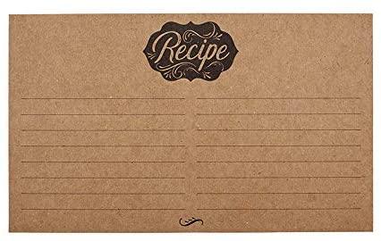 SB Designstudio Heirloomed - Recipe Cards (1 Pack)