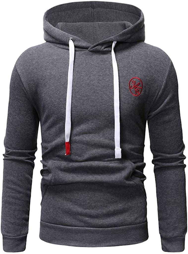 TOPUNDER Long Sleeve Autumn Winter Casual Sweatshirt Hoodies Top Blouse TracksuitsMen