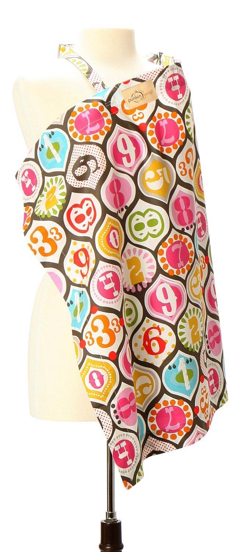 PunkinWrap 6-in-1 Baby Nursing & Breastfeeding Cotton Privacy Cover (Vegas)