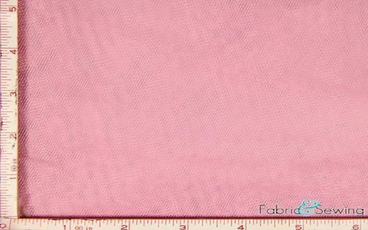 Hot Pink Tulle Illusion Knit Fabric Nylon 108