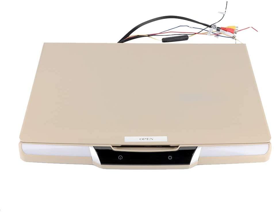 Support USB/TF Card/Hard Disk 17.3 Inch Car Ceiling TV, Car Mounted TV, for Passenger Car Buses for Vans