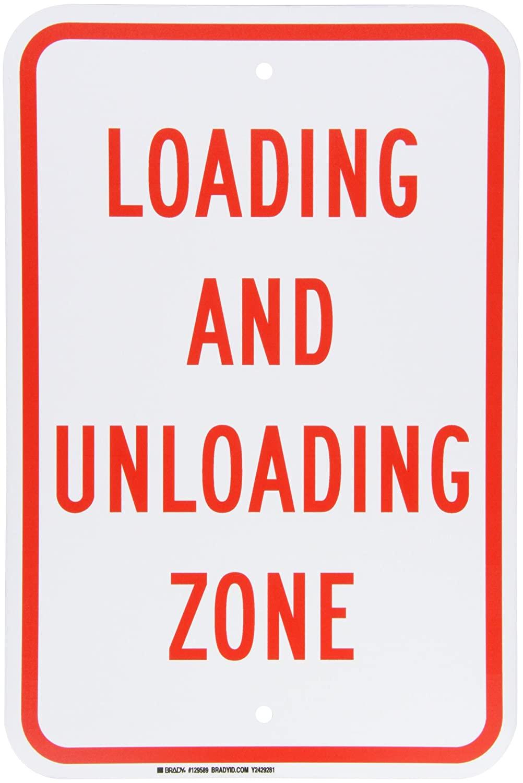 Brady 129589 Traffic Control Sign, Legend