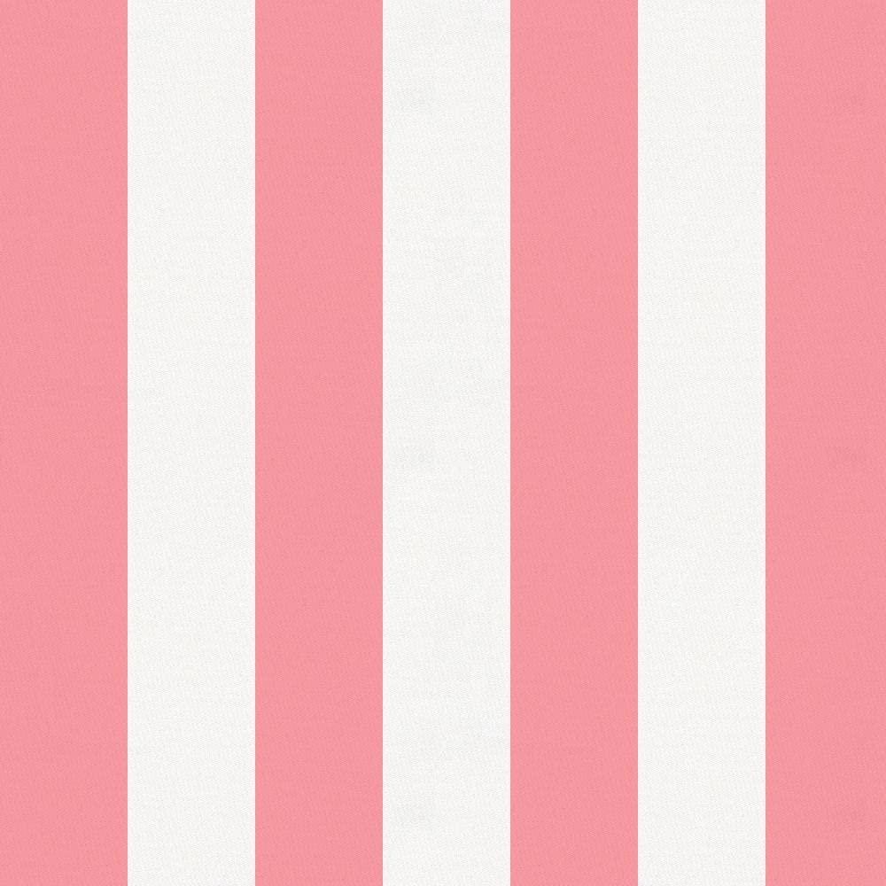 Carousel Designs Watermelon Stripe Fabric by The Yard - Organic 100% Cotton