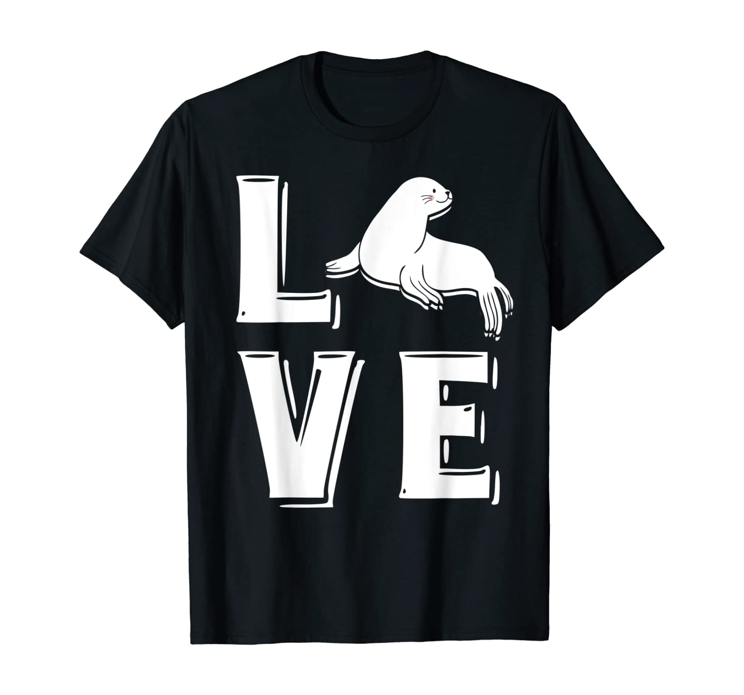 Love Sea Lion T-Shirt