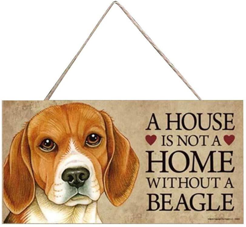 milkcha Home Decor, 11 Dog Tags Rectangular Wooden Pet Tag Dog Accessories Lovely Friendship Animal, Home & Garden (F)